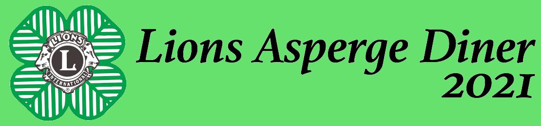 Lions Asperge Diner